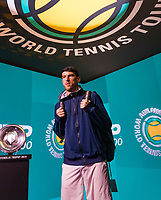 Rotterdam, The Netherlands, 12 Februari 2019, ABNAMRO World Tennis Tournament, Ahoy, first round singles: Franko Skugor (CRO),<br /> Photo: www.tennisimages.com/Henk Koster