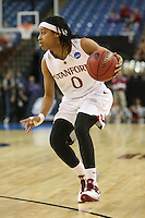 SACRAMENTO, CA - MARCH 29: Melanie Murphy during the NCAA Women's Basketball Championship Elite Eight on March 29, 2010 at Arco Arena in Sacramento, California.