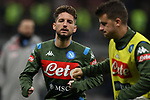 Dries Mertens of Napoli during the Coppa Italia match at Giuseppe Meazza, Milan. Picture date: 12th February 2020. Picture credit should read: Jonathan Moscrop/Sportimage