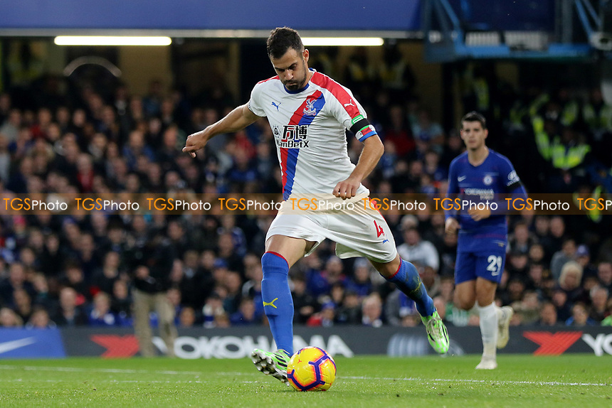 Luka Milvojevic of Crystal Palace in action during Chelsea vs Crystal Palace, Premier League Football at Stamford Bridge on 4th November 2018
