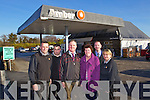 Staff at the Amber Service station and Shop on the Tarbert Road, Listowel from left Tom Dillon, Mike Dillon, Paddy Horgan, Licencee, Eileen Horgan, Mark Conroy, Rep Barrygroup, MAllow Martina Swift.