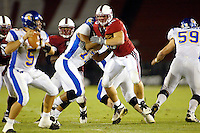 Scott Scharff during Stanford's 63-26 win over San Jose State on September 14, 2002 at Stanford Stadium.<br />