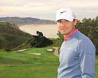 23 JAN 13 Kyle Stanley  enjoying The Farmers Insurance Open at Torrey Pines Golf Course in La Jolla, California. (photo:  kenneth e.dennis / kendennisphoto.com)