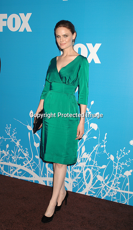 "Emily Deschanel of ""Bones""..arriving at The FOX TV Upfront on May 17, 2007 at ..Wolman Rink in Central Park in New York City. ..Robin Platzer, Twin Images........212-935-0770"
