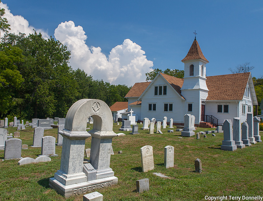 Quantico, Maryland<br /> Historic St. Philip's Episcopal Church (1845)