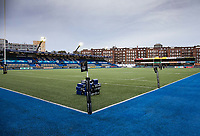 A general view of Cardiff Arms Park, home of Cardiff Blues<br /> <br /> Photographer Simon King/CameraSport<br /> <br /> Guinness Pro14 Round 6 - Cardiff Blues v Dragons - Friday 6th October 2017 - Cardiff Arms Park - Cardiff<br /> <br /> World Copyright &copy; 2017 CameraSport. All rights reserved. 43 Linden Ave. Countesthorpe. Leicester. England. LE8 5PG - Tel: +44 (0) 116 277 4147 - admin@camerasport.com - www.camerasport.co