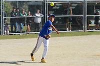 Hutt Valley Softball Association Finals Day at Fraser Park, Lower Hutt, New Zealand on Saturday 23 March 2013. <br /> Photo by Masanori Udagawa<br /> www.photowellington.photoshelter.com.