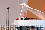 Phil Coulter on stage at the Church of the Assumption, Moyvane on Tuesday night last.