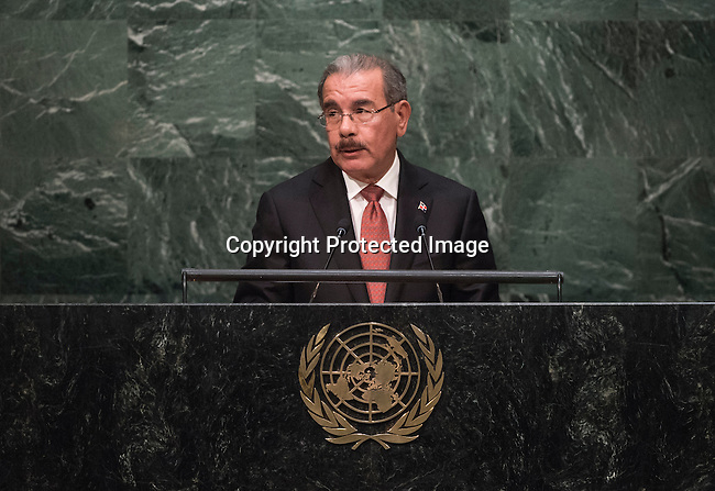 Address by His Excellency Danilo Medina Sánchez, President of the Dominican Republic