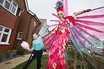 Redrow Homes - Nant Y Rhosyn<br /> St Clears<br /> 8 year old Mari Davies from St Clears.<br /> 12.10.13<br /> <br /> &copy;Steve Pope-FOTOWALES