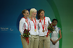 Swimming finals at the Paralympic Games in Beijing, Friday, Sept., 12, 2008. THE CANADIAN PRESS  CPC/Mike Ridewood