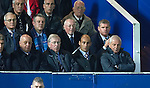 Walter Smith in the stand