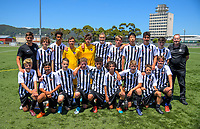 Northern under-14 boys team. 2019 National Age Group Tournament football at Fraser Park in Lower Hutt, Wellington, New Zealand on Thursday, 12 December 2019. Photo: Dave Lintott / lintottphoto.co.nz