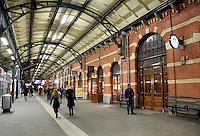 Nederland Groningen 2016. Het Station.  Foto Berlinda van Dam / Hollandse Hoogte