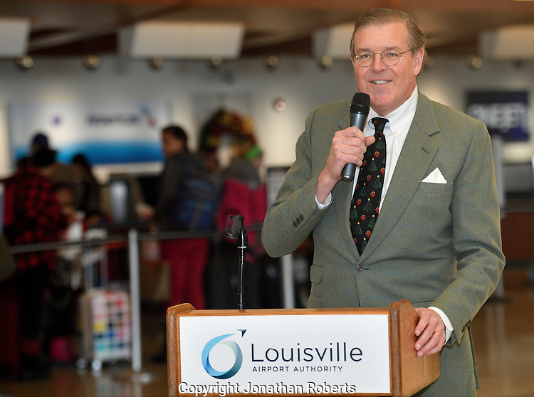 Louisville Regional Airport Authority Airport Terminal Renovation Press Conference 12/2016