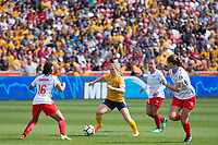 Sandy, UT - Saturday April 14, 2018: Amy Rodriguez during a regular season National Women's Soccer League (NWSL) match between the Utah Royals FC and the Chicago Red Stars at Rio Tinto Stadium.