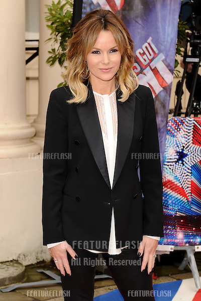 Amanda Holden at The Britain's Got Talent Photocall, at the ICA, London. 11/04/2013 Picture by: Steve Vas / Featureflash