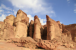 Arava, Solomon Pillars in Timna Valley