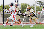 Palos Verdes, CA 05/07/11 - Zack Fixen (Palos Verdes #11) and Brendon Jasso (Oak Park #25) in action during the CIF Southern Section North Division Semifinal game between Oak Park and Palos Verdes.