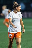 Allston, MA - Wednesday Aug. 31, 2016: Amber Brooks prior to a regular season National Women's Soccer League (NWSL) match between the Boston Breakers and the Houston Dash at Jordan Field.