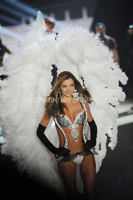 WWW.ACEPIXS.COM . . . . . .November 7, 2012...New York City.... Victoria's Secret Angel Miranda Kerr walks the runway during the 2012 Victoria's Secret Fashion Show at the Lexington Avenue Armory on November 7, 2012 in New York City ....Please byline: KRISTIN CALLAHAN - ACEPIXS.COM.. . . . . . ..Ace Pictures, Inc: ..tel: (212) 243 8787 or (646) 769 0430..e-mail: info@acepixs.com..web: http://www.acepixs.com .