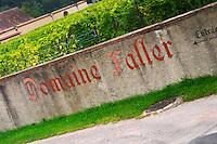 domaine faller weinbach kaysersberg alsace france
