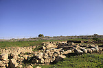 Israel, Shephelah, an archaeological site at the foothill of Sher Hill