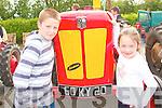 Enjoying the Vintage Day in Knockanure on Sunday were Patrick Richard and Leona O' Sullivan..