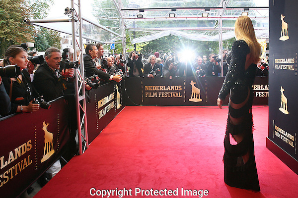 20121005 - Utrecht - Foto: Ramon Mangold - Nederlands Film festival, NFF 2012, Gala van de Nederlandse FIlm. Persaandacht voor Doutzen Kroes op de rode loper.
