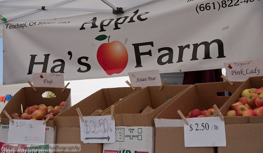 Ha's Apple Farm, seen at SoCO Farmers' Market.