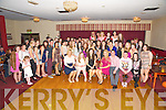 Laura and Sarah Jane Taylor, Killarney pictured with their family and friends as they celebrated their 21st and 18th birthdays in the Eviston House Hotel, Killarney on Saturday night.......................................................................................................