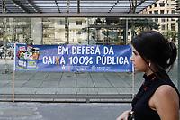 04.10.2019 - Ato em desfesa dos Bancos Públicos em SP