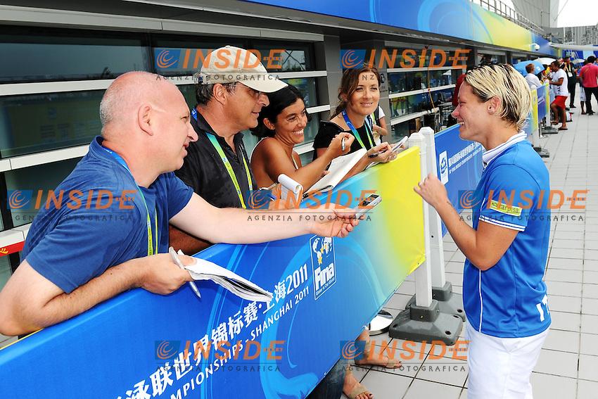 Maria MARCONI Italy.Women's 1m Springboard - Trampolino 1m Donne.Shanghai 19/7/2011 .14th FINA World Championships.Foto Andrea Staccioli Insidefoto