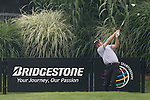 Padraig Harrington (IRL) teeing off on the 16th on day 1of the World Golf Championship Bridgestone Invitational, from Firestone Country Club, Akron, Ohio. 4/8/11.Picture Fran Caffrey www.golffile.ie