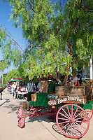 Old Wagon at the Old Town Market, San Diego, California