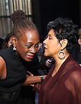 Chirlane McCray, and Phylicia Rashad attend the SDC Foundation presents The Mr. Abbott Award honoring Kenny Leon at ESPACE on March 27, 2017 in New York City.