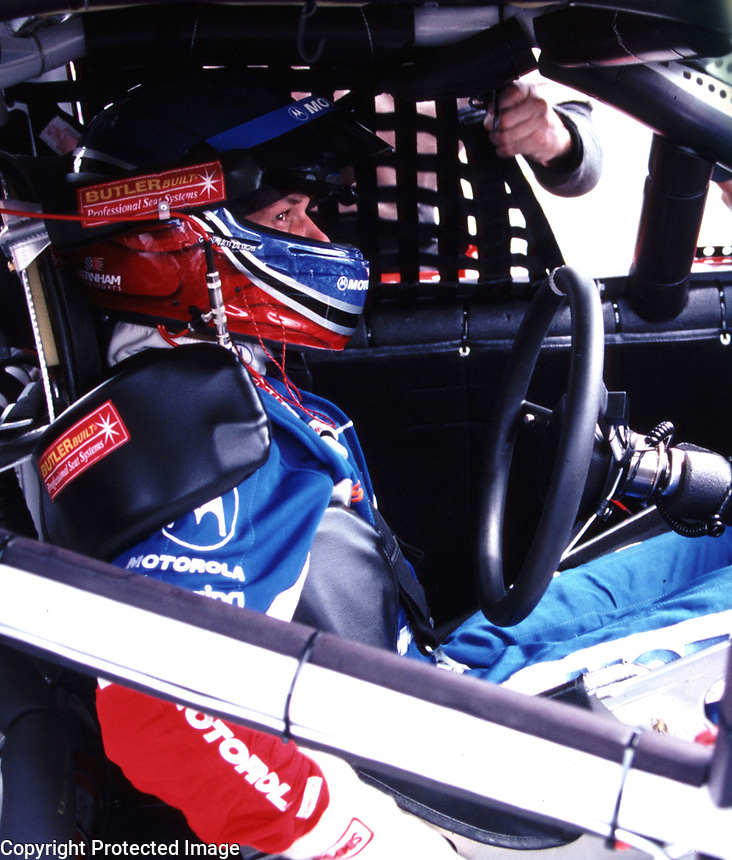 Casey Atwood, Richmond, VA, Chevy Monte Carlo 400, September 2000. ( photo by Brian Cleary)