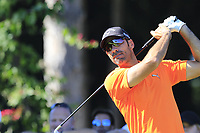 Alvaro Quiros (ESP) tees off the 11th tee during Thursday's Round 1 of the 2018 Turkish Airlines Open hosted by Regnum Carya Golf &amp; Spa Resort, Antalya, Turkey. 1st November 2018.<br /> Picture: Eoin Clarke | Golffile<br /> <br /> <br /> All photos usage must carry mandatory copyright credit (&copy; Golffile | Eoin Clarke)