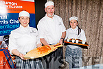Winnie Underdown, Seamus Curran and Denise O'Shea, dishing up a delicious fare at the Presentation of Certificate Ceremony by the Kerry College, Monavalley Campus in the Rose Hotel on Thursday night.