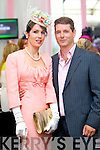 Catherine and Padraig Keane, Listowel pictured at Galway Races ladies day on Thursday at Ballybrit racecourse.