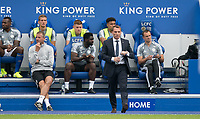 Leicester City manager Brendan RODGERS during the Premier League match between Leicester City and Wolverhampton Wanderers at the King Power Stadium, Leicester, England on 10 August 2019. Photo by Andy Rowland.
