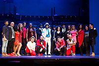 Full cast of musical 'Forever' with Michael Jackson's brother Jermaine Jackson at Teatro Nuevo Apolo in Madrid, Spain. January 18, 2018. (ALTERPHOTOS/Borja B.Hojas)