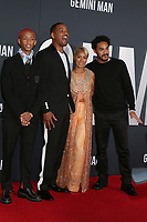 """LOS ANGELES - OCT 6:  Jaden Smith, Will Smith, Jada Pinkett Smith, Trey Smith at the """"Gemini"""" Premiere at the TCL Chinese Theater IMAX on October 6, 2019 in Los Angeles, CA"""
