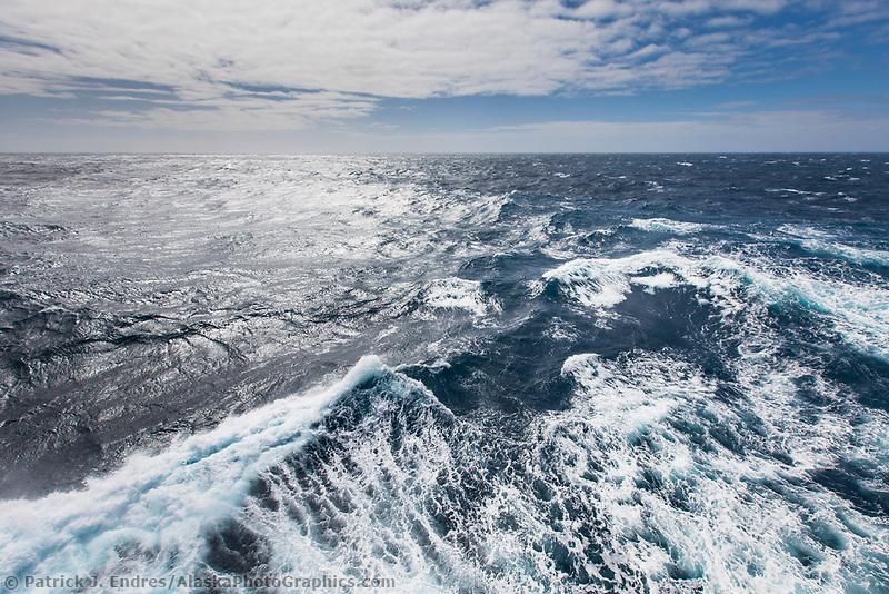 Rough seas in the Drake passage, Antarctica