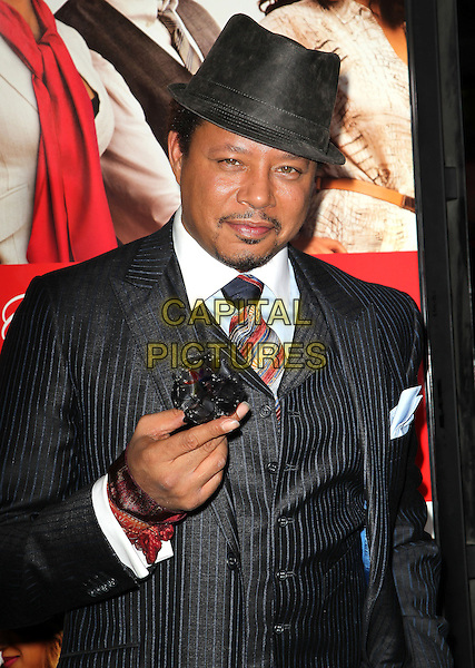 05 November 2013 - Hollywood, California - Terrence Howard at &quot;The Best Man Holiday&quot; Los Angeles Premiere held at TCL Chinese Theatre on November 5th, 2013<br /> CAP/ADM/KB<br /> &copy;Kevan Brooks/AdMedia/Capital Pictures