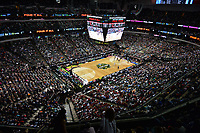 Dallas, TX - Friday March 31, 2017: American Airlines Center during the NCAA National Semifinal Game between the women's basketball teams of Stanford and South Carolina at the American Airlines Center.