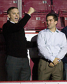 Kenny Ryan and Justin Murphy were managers for the 2008 National Championship team. - The Boston College Eagles defeated the visiting Merrimack College Warriors 3-2 on Friday, October 29, 2010, at Conte Forum in Chestnut Hill, Massachusetts.