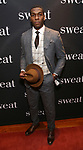 "Khris Davis attends the after party for the Broadway Opening Night of ""Sweat"" at Brasserie 8 1/2 on March 26, 2017 in New York City."