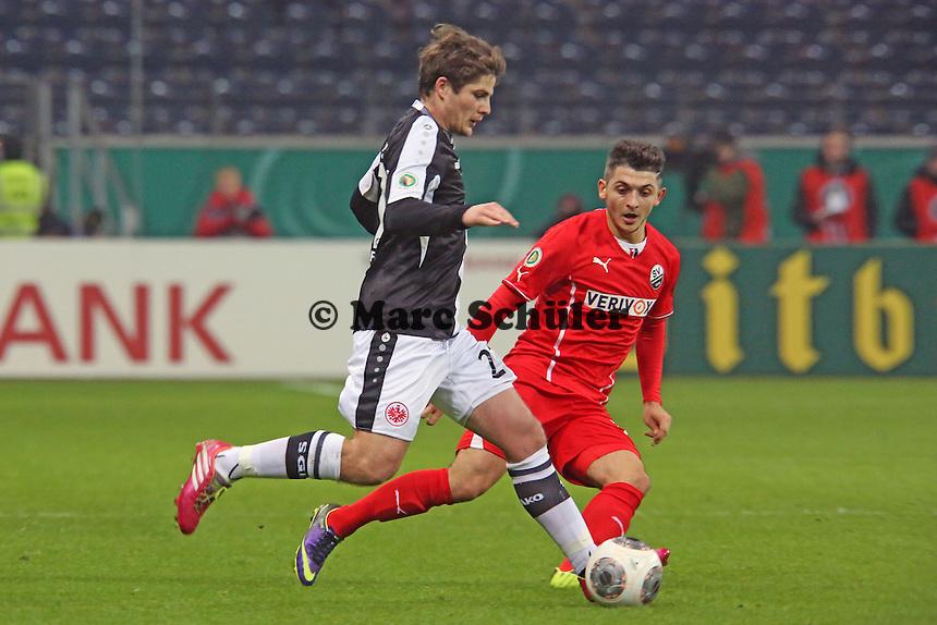 Pirmin Schwegler (EIntracht) - Eintracht Frankfurt vs. SV Sandhausen, DFB-Pokal, Commerzbank Arena