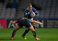 Benetton's Luca Morisi in action during todays match<br /> <br /> Photographer Bob Bradford/CameraSport<br /> <br /> European Rugby Challenge Cup Pool 5 - Harlequins v Benetton Treviso - Saturday 15th December 2018 - Twickenham Stoop - London<br /> <br /> World Copyright &copy; 2018 CameraSport. All rights reserved. 43 Linden Ave. Countesthorpe. Leicester. England. LE8 5PG - Tel: +44 (0) 116 277 4147 - admin@camerasport.com - www.camerasport.com